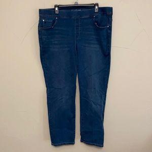 Gloria Vanderbilt Avery Slim Leg 20W Bling Pocket